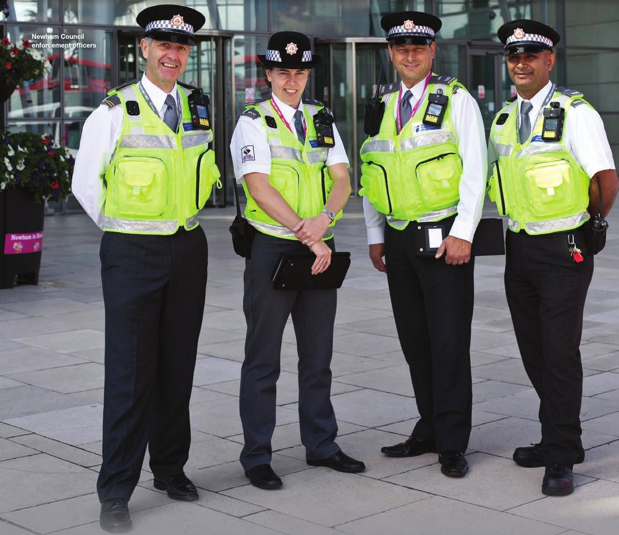 Contrary to what what you might think at first glance  this is not a picture of four police officers  It accompanies a double page spread in the latest. police   forestgatedotnet