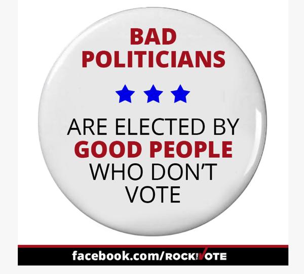 Bad politicians