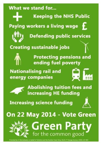 Vote Green 2014
