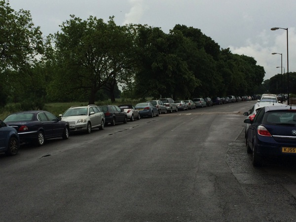 Capel Road parking