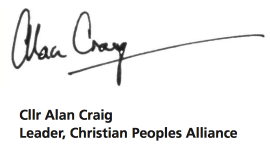 Alan Craig signature