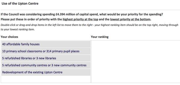 Upton centre consultation