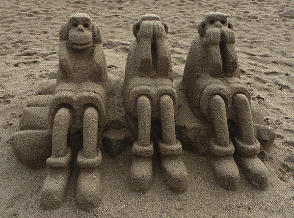 Three Wise Monkeys 2010