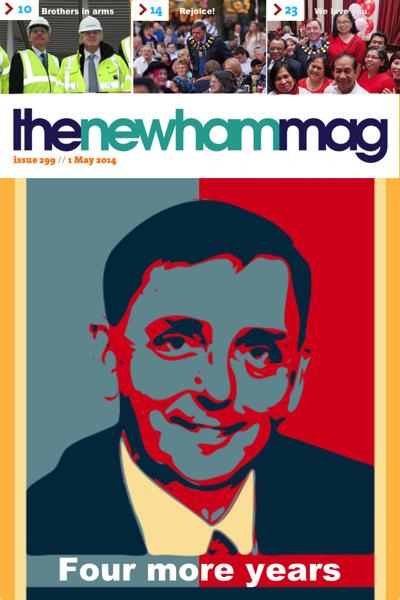 Newham Mag fake