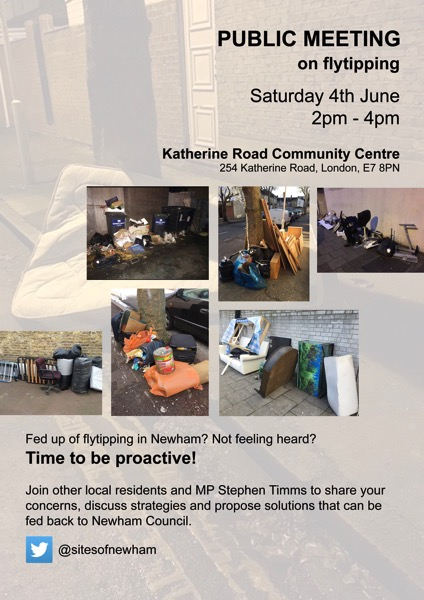 Public Meeting on Flytipping