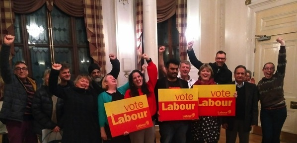 Forest Gate North candidates and supporters