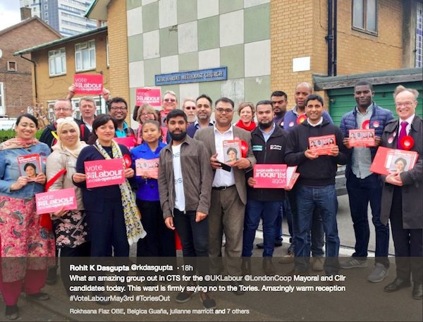 Labour & Co-op Party canvassers