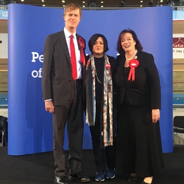 Stephen Timms, Rokhsana Fiaz and Lyn Brown