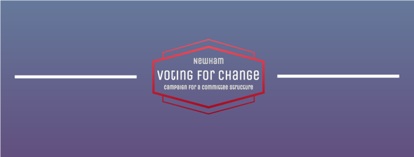 Newham Voting for Change logo