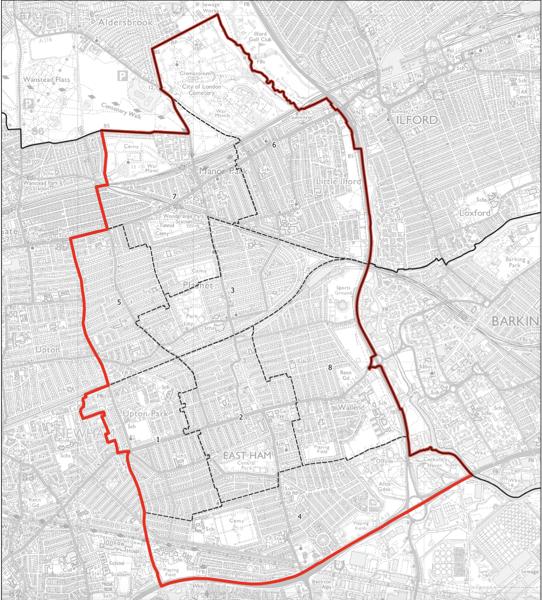 Proposed East Ham constituency